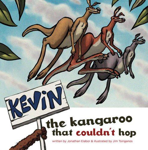 książeczka dla dzieci po angielsku kevin kangurek który nie potrafił skakać