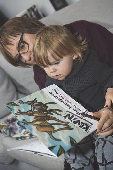 kevin-the-kangaroo-grandmother-reads-book