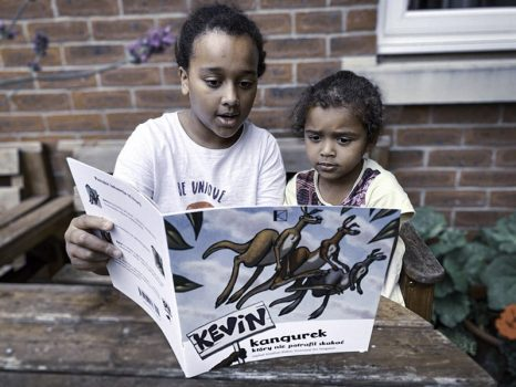 kevin-the-kangaroo-older-sister-reading